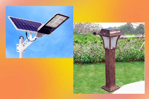 Những loại đèn năng lượng mặt trời