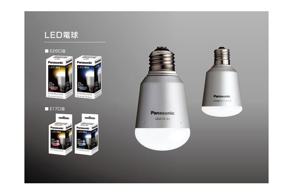 Đèn năng lượng mặt trời của Panasonic